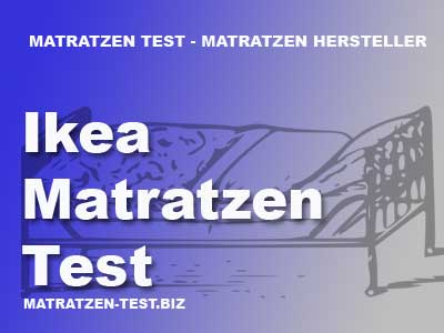ikea matratzen test. Black Bedroom Furniture Sets. Home Design Ideas