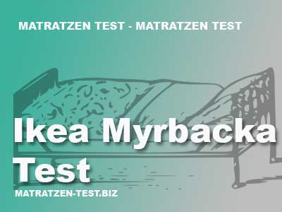 ikea myrbacka test matratzen test. Black Bedroom Furniture Sets. Home Design Ideas