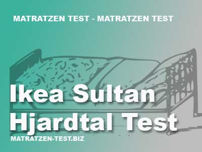 ikea sultan hjartdal test matratzen test. Black Bedroom Furniture Sets. Home Design Ideas