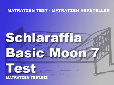 schlaraffia basic moon 7 test matratzen test. Black Bedroom Furniture Sets. Home Design Ideas